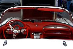 1960 Corvette cockpit (Light Orchard) Tags: car auto automobile sports antique classic vintage old restored chevrolet chevy corvette vette 1960 american ©2019lightorchard bruceschneider