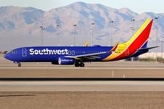 Southwest Airlines   Boeing 737-800   N8693A   Las Vegas McCarran (Dennis HKG) Tags: aircraft airplane airport plane planespotting canon 7d 100400 lasvegas mccarran klas las southwest southwestairlines swa wn boeing 737 737800 boeing737 boeing737800 n8693a