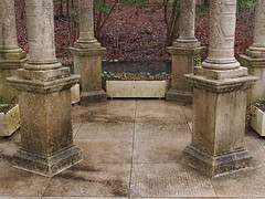 Symmetry (karsheg) Tags: gardens longwoodgardens artsy winter pennsylvania gazebo outdoors
