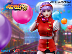 PHICEN PL2018-135 Athena Asamiya 麻宫雅典娜 SNK King of Fighters - 05 (Lord Dragon 龍王爺) Tags: 16scale 12inscale onesixthscale actionfigure doll hot toys phicen tbleague seamless