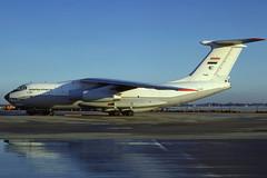 YI-AKO (Iraqi Airways) (Steelhead 2010) Tags: iraqiairways iraqiairforce ilyushin il76 cargo freighter ost yireg yiako