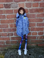Kether in her new clothes made by me. Wig/Faceup by Red Iris Atelier #abjd #dollchateau #dollchateaustacy (Century.Door) Tags: abjd dollchateaustacy dollchateau