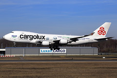 Cargolux  Boeing 747-4HQ(ER/F) LX-ECV (widebodies) Tags: luxemburg luxembourg lux ellx widebody widebodies plane aircraft flughafen airport flugzeug flugzeugbilder cargolux boeing 7474hqerf lxecv