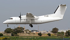 5Y-JGM LMML 09-03-2019 748 Air Services  Bombardier Dash 8-102A CN 287 (Burmarrad (Mark) Camenzuli Thank you for the 17.2) Tags: 5yjgm lmml 09032019 748 air services bombardier dash 8102a cn 287