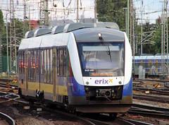 erixx LINT (Schwanzus_Longus) Tags: bremen central station german germany modern commuter passenger train railroad railway diesel railcar multiple unit alstom corradia lint dmu