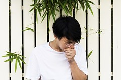 How to Make Yourself Sneeze? 11 Tricks That Can Help (liliannorman) Tags: education person young guy man boy handsome asian outdoors alone candid portrait glasses eyeglasses youth