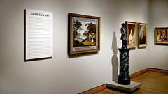 Hicks, The Peaceable Kingdom seen in gallery