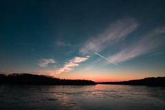 Devin Sunste 2 (Bryantes_ER) Tags: sunset landsacpe slovakia nikon devin river sky water samyang 10mm