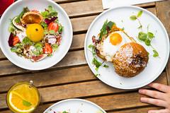 _22A8070 (Jono Cowan) Tags: cafe food melbourne coffee brunch yolk egg breakfast latte