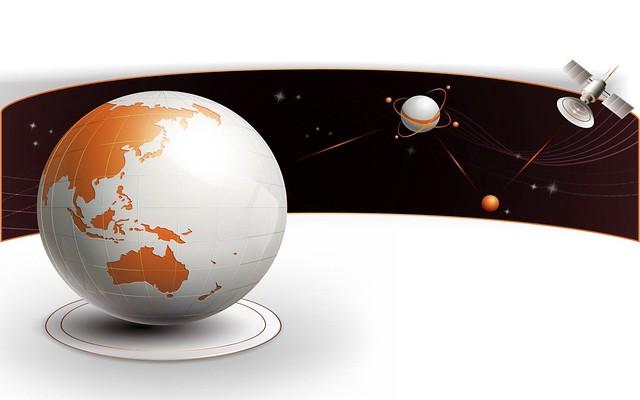 Обои космос, земля, спутник картинки на рабочий стол, фото скачать бесплатно