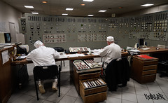 Switching Yard Control Room in ChNPP (mattkubler) Tags: chernobyl powerplant chnpp controlroom switchyard
