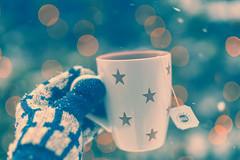 Snow, Tea & You (_andrea-) Tags: winter snow snowy tea bokeh bokehshots bokehjunkie bokehs snowflakes schnee schneeflocken planart1450 sonya7m2 justlove