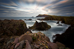 Near Clogher strand Dingle Peninsula Kerry Ireland (roaming paddy .) Tags: seascape sea kerry ireland landscape wildatlanticway longexposure countykerry dingle dinglepeninsula
