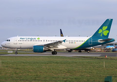 EI-DVN - Aer Lingus A320 (New Livery) (✈ Adam_Ryan ✈) Tags: dub eidw dublinairport 2019 dublinairport2019 airbusboeing aerlingus a320 eidvn newlivery newscheme aerlingusnewlivery