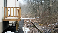 Clearance Issue? (blazer8696) Tags: 2019 ct connecticut dscn4428 ecw fishkill hpf hartford newington newingtonjunction providence t2019 usa unitedstates abandoned railroad siding