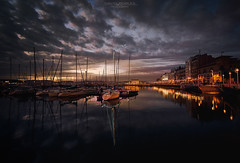 Marina of Gijón photographed at nightfall (Xmos) Tags: tourism sea summer city spain marina port pier boat gijon travel urban seaside yacht blue water europe bay view asturias harbor landmark building town european outdoor vessel residential nautical scene district luxury night fishing beautiful touristic resort church palace sailboat house destination romantic vacations reflection dock drone seafront coastline spanish san architecture colorful embankment landscape buildings promenade ocean coast harbour facade cimavilla sailing sky sunset sporting cruise houses aerial xixon panoramic cityscape