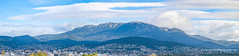 Morning light on Mount Wellington, Hobart. Tasmania (Peter.Stokes) Tags: australia australian colour landscape nature outdoors photo photography outback panorama vacations landscapes morning light mountwellington hobart tasmania