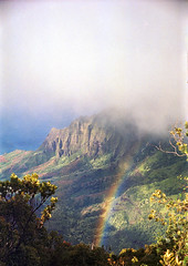 Na Pali Coast, Kauai (The 69th Dimension) Tags: nature landscape hawaii kauai napalicoast 35mm film filmphotography analog tropical rainbow hiking