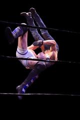 Wrestling - Ripetide: Deep Six (Chakara & Paul Robinson vs Session Moth Martina & Robbie Mac) (Yours Sinclairly) Tags: wrestling riptide brighton