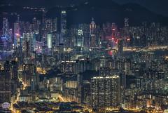 City Of Lights, HongKong (kenneth chin) Tags: kowloonpeak 飛鵝山 飞er 香港 nikon d850 nikkor 70200f28vrii hongkong asia city building yahoo google cityscape