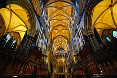 Magnificent gothic architecture of Salisbury Cathedral, England (Andrey Sulitskiy) Tags: salisbury uk england wiltshire
