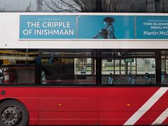 Red and Blue (kckelleher11) Tags: 1240mm 2019 ireland olympus blue bus cripple dublin em1 inishmaan january mzuiko omd red