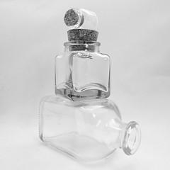Week 13 Three Glass Objects (Carol Dunham) Tags: projectsunday glass three