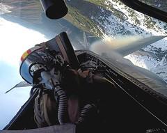 Ala 15 Base Aérea de Zaragoza (Ejército del Aire Ministerio de Defensa España) Tags: aviación aviation avión airplane plane piloto pilot monodevuelo fuerzaaérea ejércitodelaire f18 mcdonnelldouglas hornet ala15 cockpit cabina