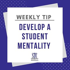 Develop a student mentality for ultimate success!  When you never stop learning, you never stop growing! 💯📚 • • • • #stcdirectphilly #philly #weeklytip #fyi #neverstoplearning #studentmentality #business#growth #success #goals #winning #business (stcdirect) Tags: stc direct philly working reviews careers small business entrepreneurship team