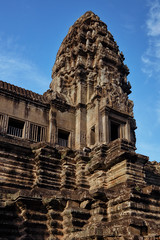 Angkor Wat – Temple (Thomas Mülchi) Tags: angkor siemreap cambodia 2018 siemreapprovince angkorwat temple tower gallery architecture krongsiemreap kh