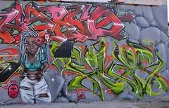 Graffiti La Rochelle, Le Gabut (thierry llansades) Tags: graf graff graffiti graffitis graffs grafs frechgraff frenchgraff spray aerosol painting bombing larochelle legabut charente charentemaritime charentes charentesmaritime aunis saintonge art artmoderne urbanart steetart street mur mural fresque fresques