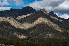 Bands of Sun and Shadow (Ralph Earlandson) Tags: clouds sabinocanyon arizona tucson droh dailyrayofhope2019
