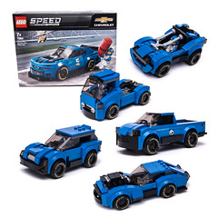 1st FIVE alternates of 75891 (KEEP_ON_BRICKING) Tags: lego speed champions set 75891 custom design model moc car vehicle awesome rebuild alternate alternative chevrolet camaro nascar racing legocar legocity keeponbricking 2019 afol