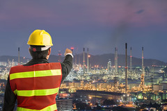 Petrochemical engineering man with white safety helmet standing (Sorapop) Tags: architecture body building business chemistry construction energy engineer engineering environment estate factory fossilfuel fuel gasoline hard hat helmet industrial industry machine male man manager manufacturing men metal oil part petrochemica petrochemical petroleum pipe pipeline plant pollution power production protect protection refinery safety standing storage structure tower tube young