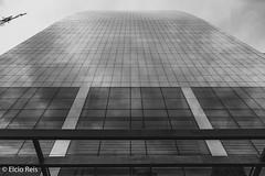 Shopping Cidade de São Paulo (elcio.reis) Tags: prédios sãopaulo nikon paulista brazil bw architecture arquitetura pb blackwhite brasil build br