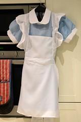 154 of Year 5 - Next weeks shoot wardrobe arrived (I'm Tim Large) Tags: wardrobe frock alice wonderland fairytale story apron fuji fujifilm xpro2 365 154