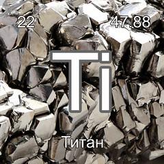 Хімічні елементи Титан Ti  InterNetri Ukraine