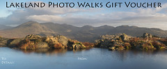 Lakeland Photo Walks Email Gift Voucher (Nick Landells) Tags: harterfell lakedistrict lakelandphotowalks morning light autumn slightside scafell scafellpike illcrag eskpike bowfell crinklecrags hardknott upper eskdale panorama tarn reflection reflections