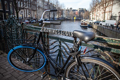 Amsterdam-Centrum 020 (Igor Klajo) Tags: amsterdam netherlands niederlande nederlandbike bicycle gracht kanal chanel waterfront water canoneos5dmarkii canon canonef2470mmf28liiusm northholland nl
