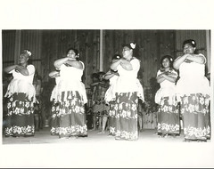 Tokelau Islanders from Wellington, Polynesian Festival 1972