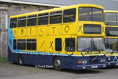 Dublin Bus RV554 (99D554). (Fred Dean Jnr) Tags: dublinbusyellowbluelivery busathacliath dublinbus volvo olympian alexander r rv554 99d554 broadstonegaragedublin november2013