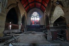 Church of Costa2 (Landie_Man) Tags: church costa urbex yorkshire coffee st andrews derp derpy religion abandoned disused closed shut retail survivor