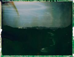 Night 1 (FP100c negative) (mmartinsson) Tags: mamiyauniversal night modelp instantfilm fujifilm 127mm negativescan negative longexposure mamiyasekor scan 2018 analoguephotography fp100c epsonperfectionv700 polaroid film mamiyasekorp bleached santateresadigallura sardegna italien it