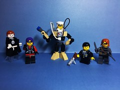 The Umbrella Academy (Lord Allo) Tags: lego umbrella academy seance rumor spaceboy number five 5 kraken klaus allison luther diego hargreaves