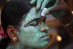 Kaveripattinam, 2019 (bmahesh) Tags: cwc cwc709 chennaiweekendclickers kaveripattinam tamilnadu india mahashivratri angalammanfestival mayanakollai people portrait face painting makeup canon
