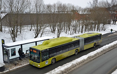 AtB Trønderbilene - Man Lions City Leddbuss (minolta100) Tags: man lions city cng gas gassbuss bus buss atb trønderbilene articulated leddbuss rognbudalen bussholdeplass public transportation trondheim norway