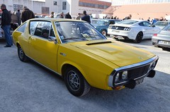 Renault 17 TS (benoits15) Tags: renault 17 ts french yellow car nimes auto retro