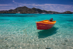 Soon Come-2420 (islandfella) Tags: red boat sandy island carriacou cay sandbar mpa siobmpa marine protected area caribbean grenada grenadines west indies sea beach shore water