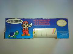 North American Decorative Products Super Mario Bros Nintendo Wall Trim 30 (gamescanner) Tags: north american decorative products super mario bros nintendo wall trim covering walltrim decor sculpted vinyl border upc 058559709011 058559709035 rosewall inc 1989 sku 70902