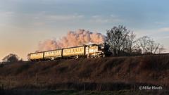 4144 - Severn Valley Railway - 20 March 2019-67 (Mike Heath Photo) Tags: svr severn valley railway gwr great western didcot centre drc 4144 prairie large tank engine england uk steam locomotive train 30742 charter matt fielding